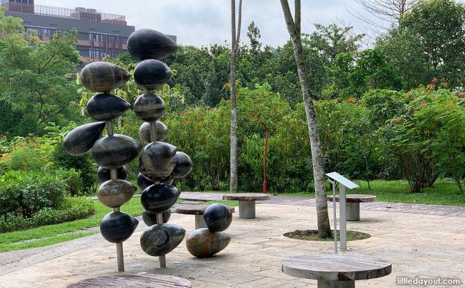 Sculpture of stones