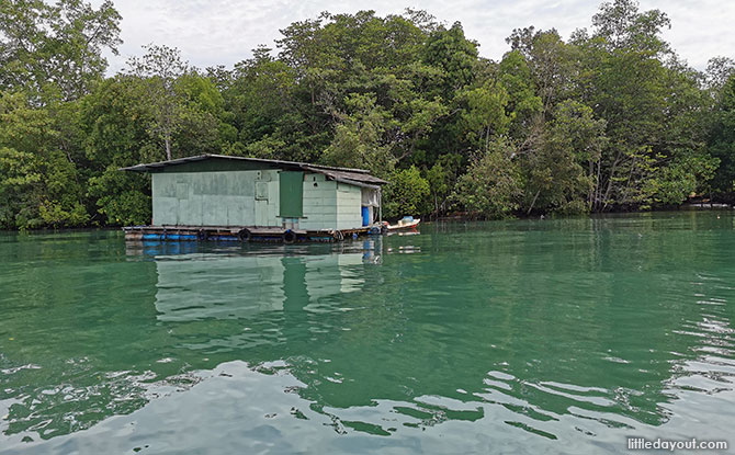 floating kampong houses