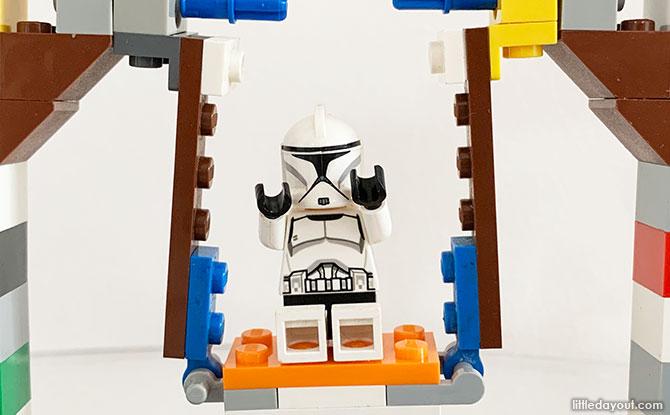 Building A LEGO Swing That Swings