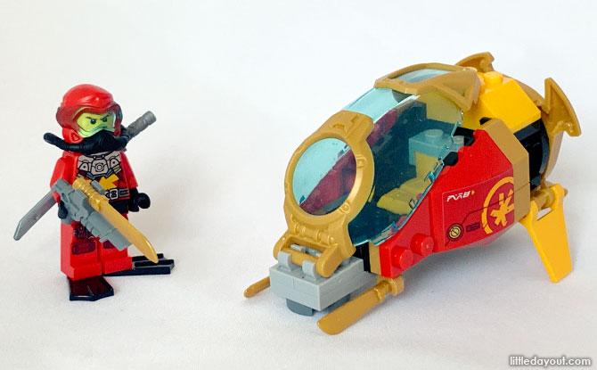 Scuba Kai - Temple of the Endless Sea LEGO review