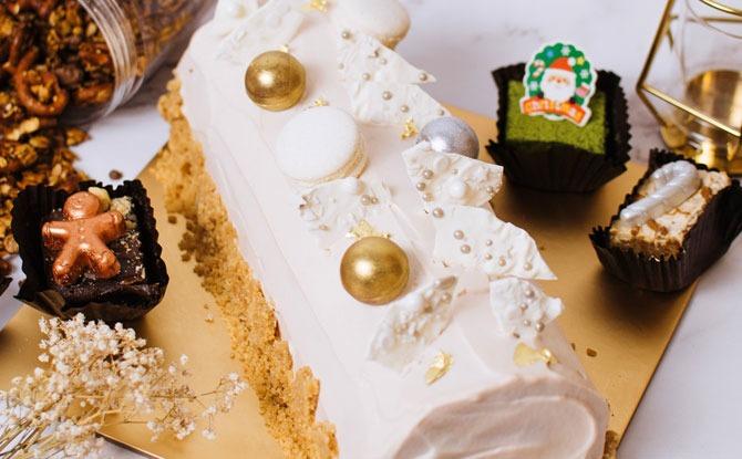 Edith Patisserie Log Cake 2020