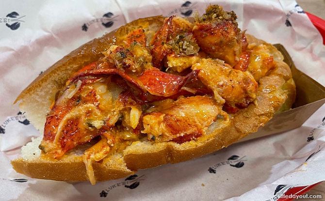 Luke's Lobster Mala Roll