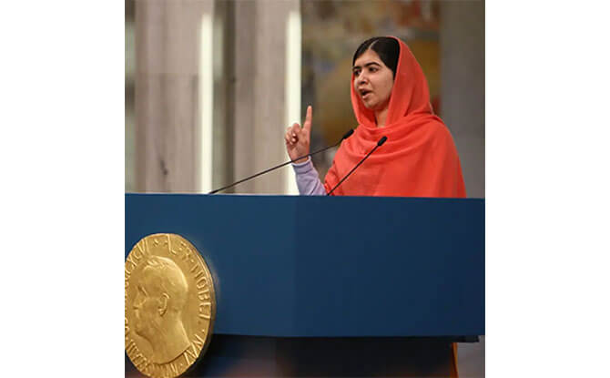 Malala Yousafzai – Activist for Education for Females