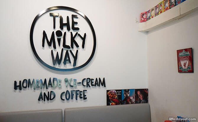 The Milky Way Ice Cream and Coffee