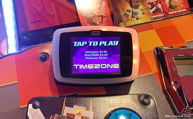 Timezone VivoCity