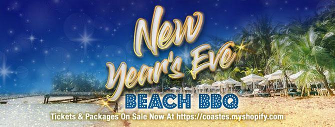 Coastes Singapore's Beach BBQ Countdown Party