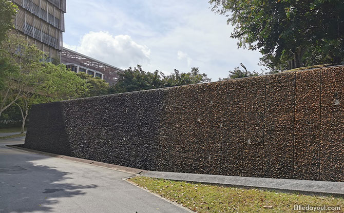 huge water wall