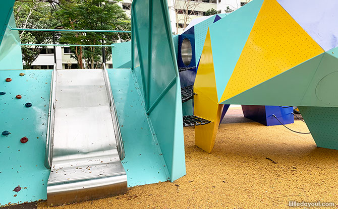 Slide at the Jurong West Park Playground
