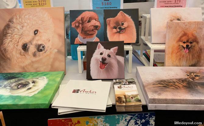 Pet portrait services