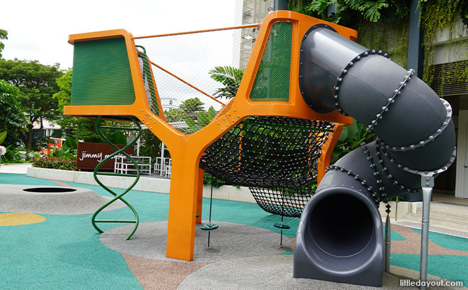 Visiting the Parkside Playground At Paya Lebar Quarter