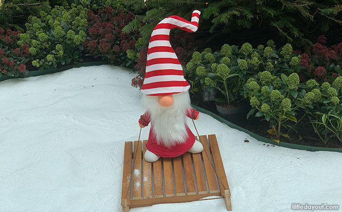 Nisse at Gardens by the Bay