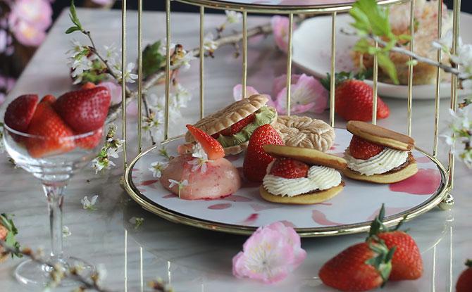 The Strawberry Sakura High Tea