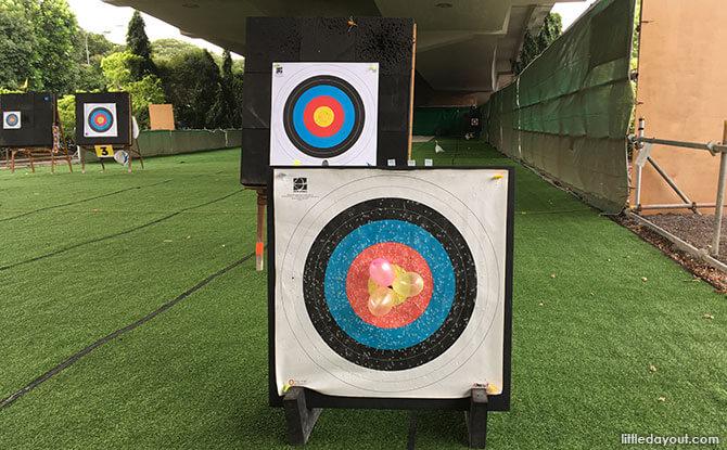 Salt & Light Archery's Funshoot programme