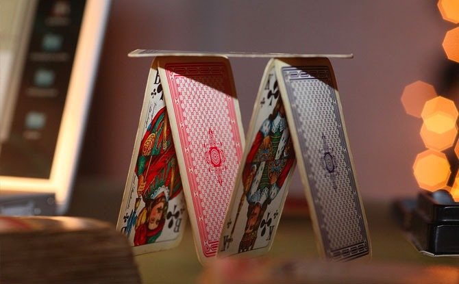 Build a house with cards