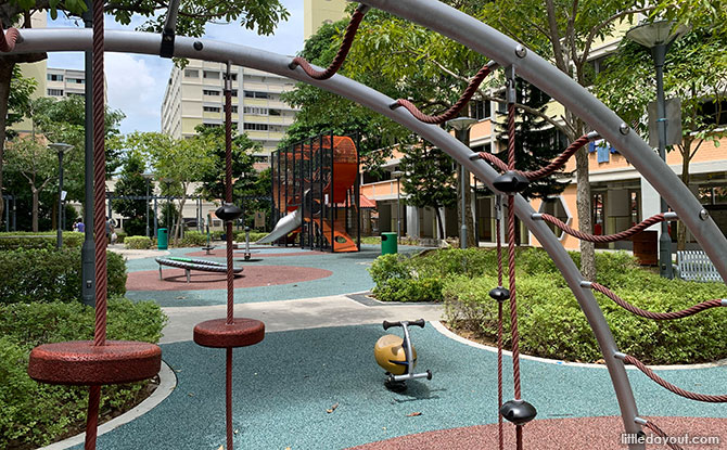Inside the Simei Vertical Playground