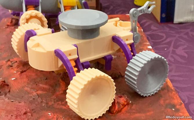 Mars Rover Model