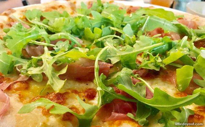 Pizzas at Strong Flour