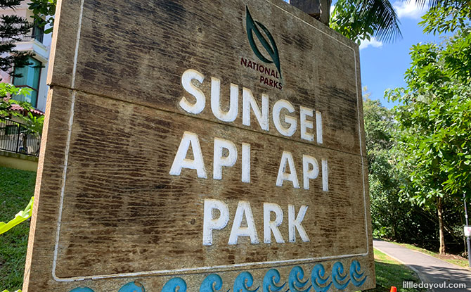 Sungei Api Api Park: By The River In Pasir Ris