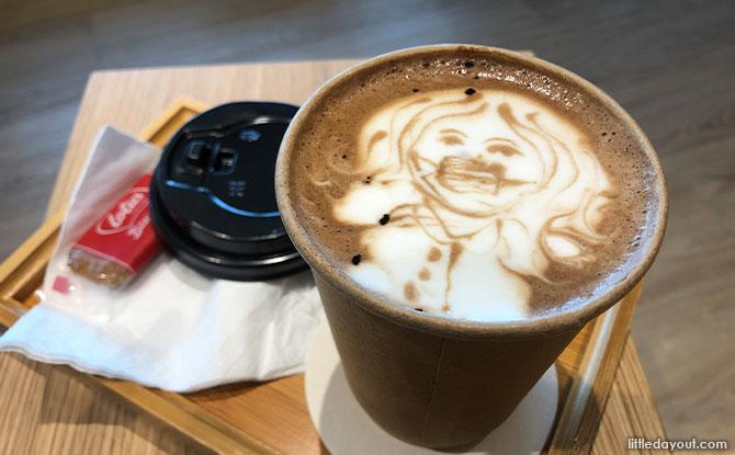 Suzuki Hokkaido Cafe Mocha