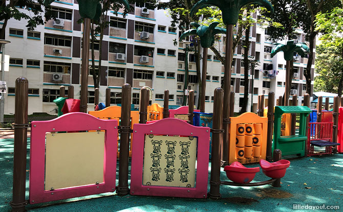 playground that is suitable for toddlers