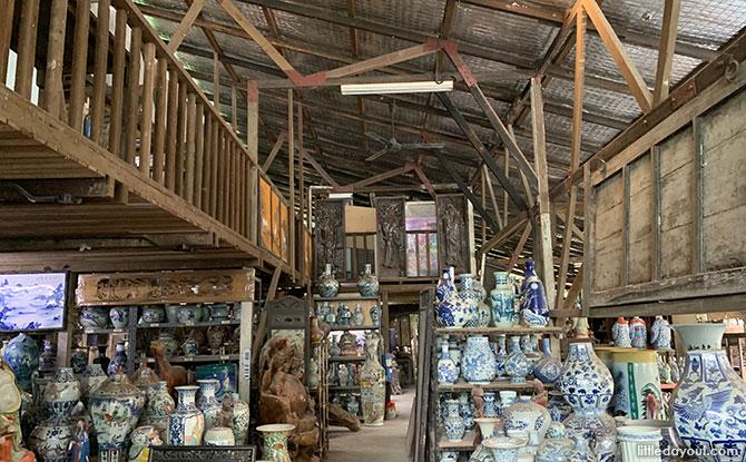 Inside Thow Kwang Pottery Jungle
