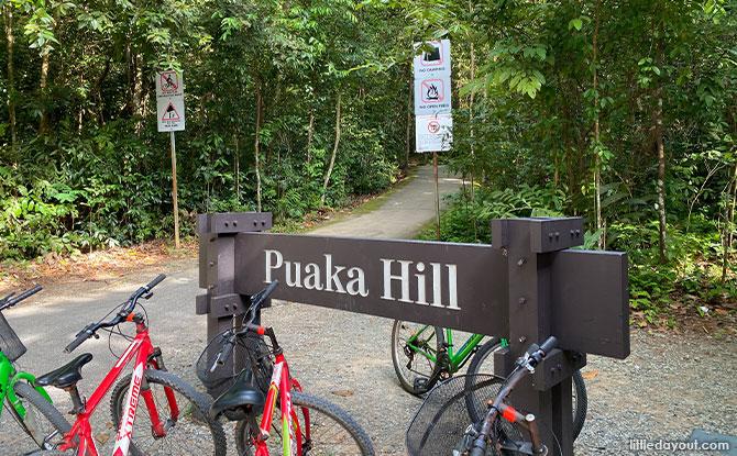 Puaka Hill Signage