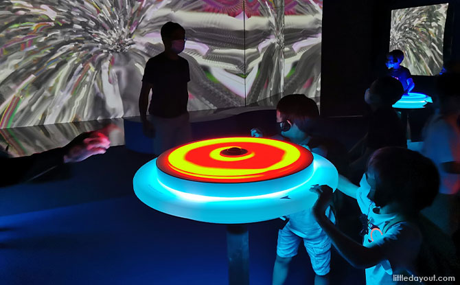 Family Review: ArtScience Museum's Virtual Realms Exhibition