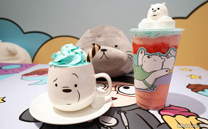 Ice Bear - We Bare Bears Cafe Singapore