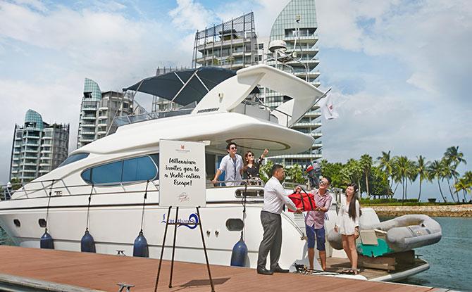 yacht staycay dock