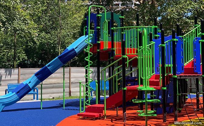 New playground at Yishun Nature Park
