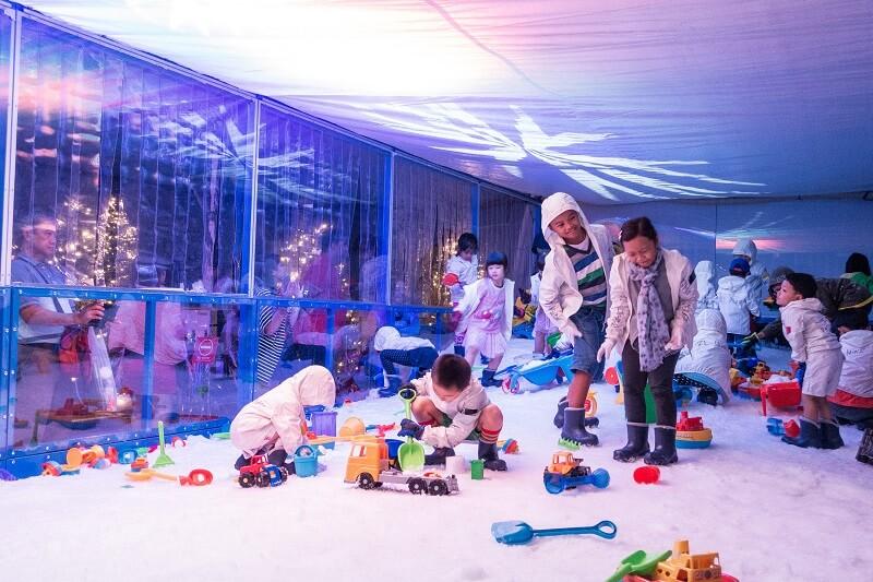 Snow Playground, Christmas Wonderland