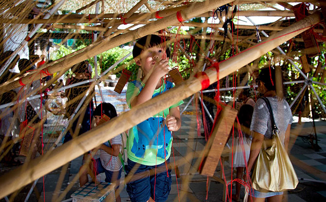 Allow children to express themselves through play, creativity and the arts – without the fear of judgment