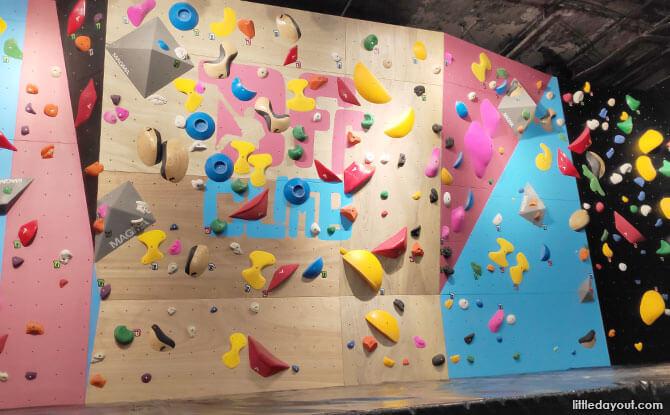 Boulder Zone at BFF Climb