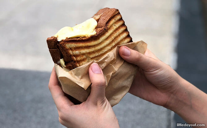 Cheese Toast in Singapore, 52 Sandwich Shack