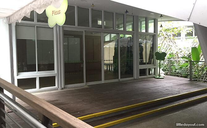 Classrooms at Jacob Ballas Children's Garden