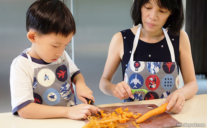Prep with Your Junior Sous Chef