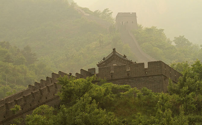 Great Wall at Huangya Pass