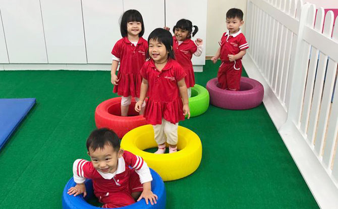 Play time at MindChamps PreSchool Serangoon