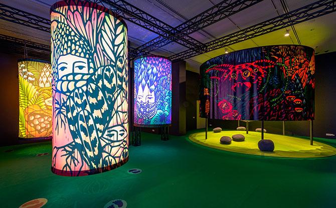 Kenangan Kunang-Kunang (Memories of Fireflies), National Gallery Singapore