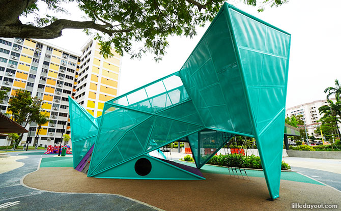 Origami Playground at Nee Soon 3G Park