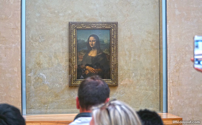 Mona Lisa at Louvre, Paris