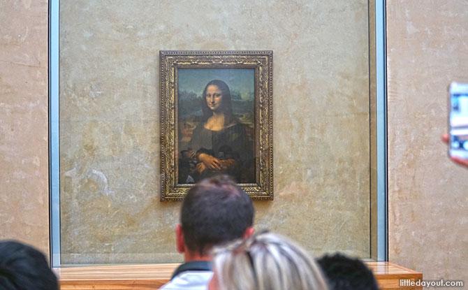Mona Lisa at Louvre, Paris