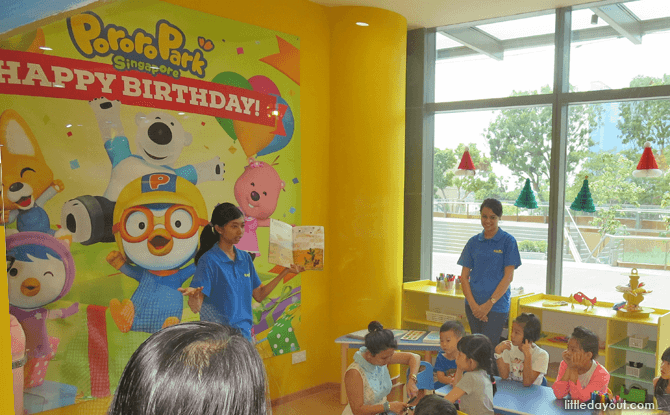 Party Room at Pororo Park Singapore