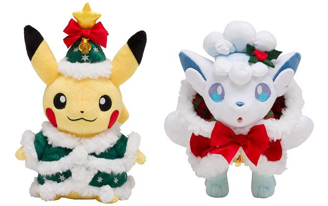 Pokémon Christmas plushie