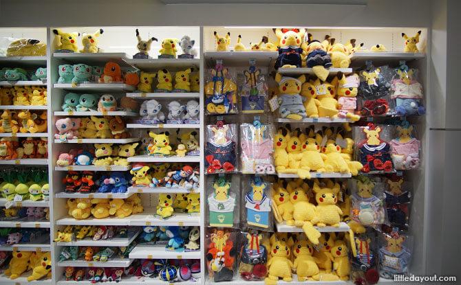 Merchandise at Pokemon Center Mega, Tokyo