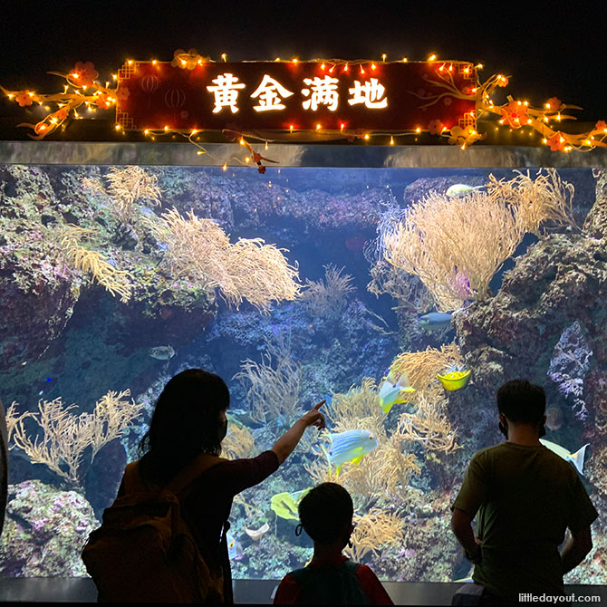 S.E.A. Aquarium Chinese New Year 2021