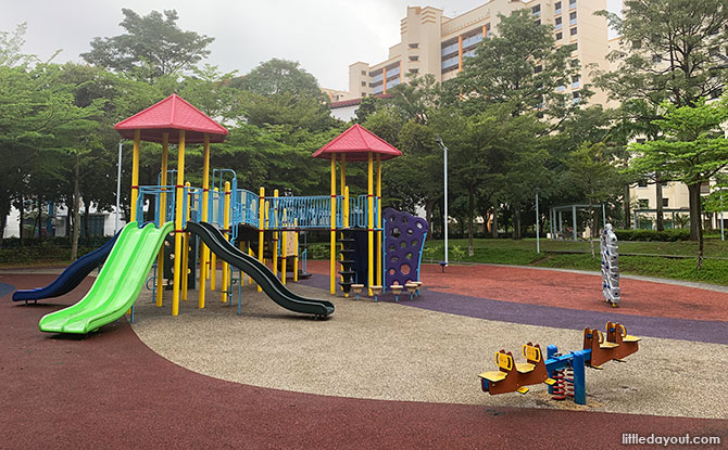 Sengkang Sculpture Park Playground