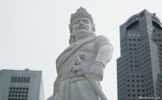 The Arrivals - Statue of Sang Nila Utama for the Singapore Bicentennial 2019