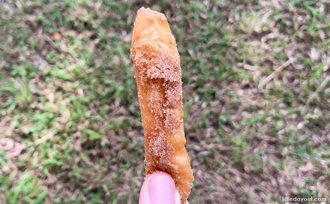 McDonald's Donut Stick Taste Test Review