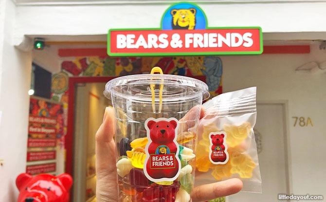 Bear and Friends: Gummy Store In Haji Lane